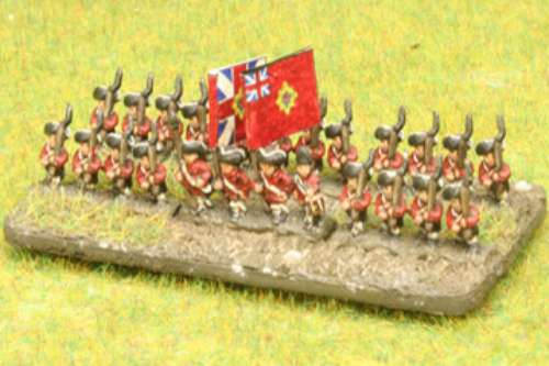 6mm AWI (American War of Independence) armies (Baccus miniatures)