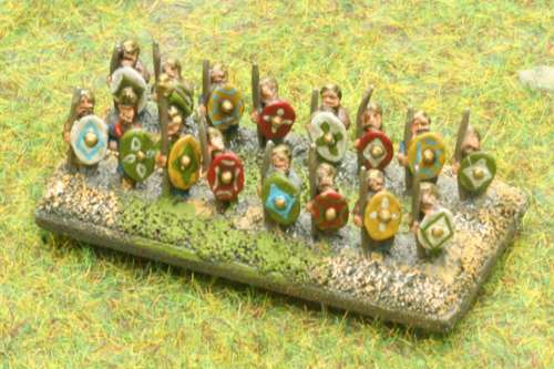 First test links to 6mm WMA armies  (Baccus miniatures)