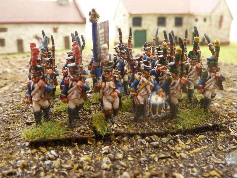 15mm Napoleonic infantry ready painted by Reinforcements by Post in Bangladesh