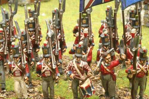 28mm Ready Painted Britsh Napoleonic infantry by Reinforcements by Post in Bangladesh