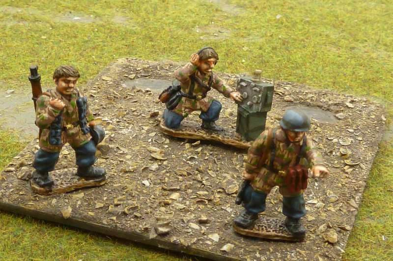 28mm WW2 British, Germans, United States (US) and Russian figures
