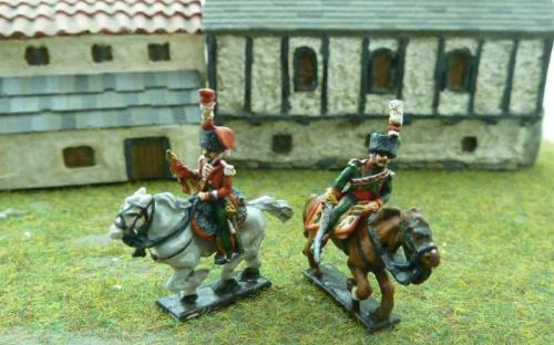 French line Chasseurs
