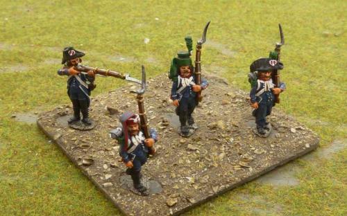 05 French Revolutionary light infantry (C)