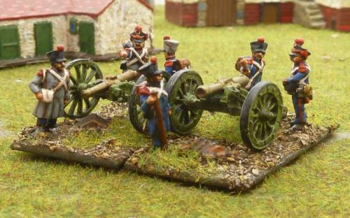 07 French foot artillery campaign dress