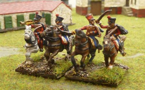 10 French 6th Chasseurs