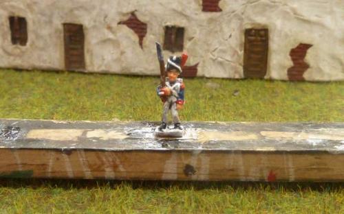 10mm Old Guard Grenadier inked (x2 work)