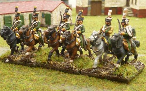 12 French 5th Chasseurs