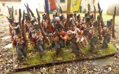 15mm Blue Moon Napoleonic British Peninsula infantry