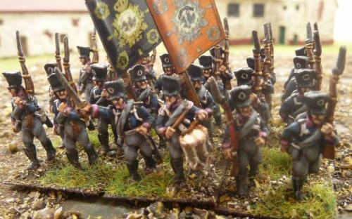 15mm Blue Moon Napoleonic Prussian infantry