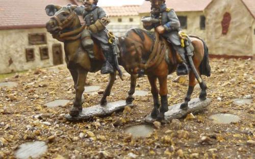 28mm ACW Confederate Generals