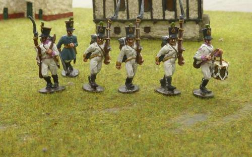28mm Austrian Napoleonic infantry (Ready painted)