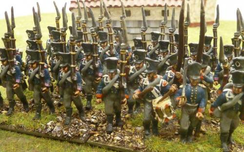 28mm Ready Painted Prussian infantry