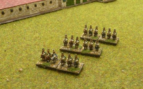 6mm Napoleonic French Imperial Gd Empress Dragoons