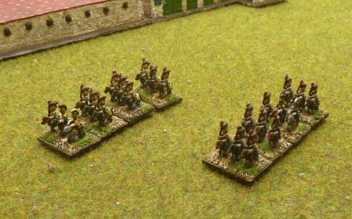 6mm Napoleonic French Lancers