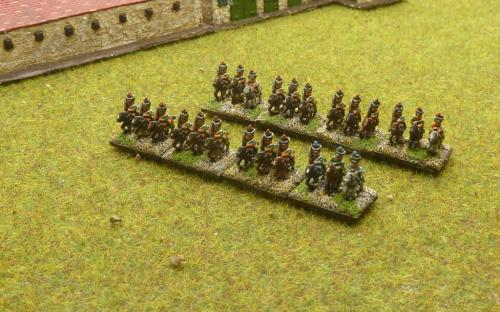 6mm Napoleonic French and Italian Chasseurs