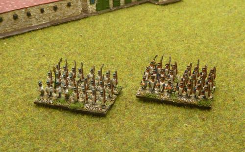 6mm Napoleonic French and Italian Foot