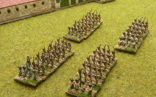6mm Napoleonic French and Italian infantry