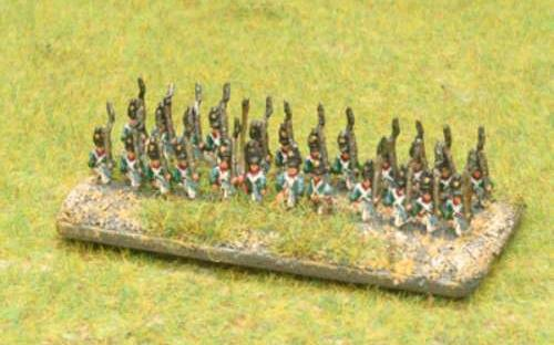6mm Napoleonic Wurttemberg infantry