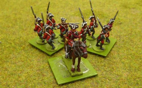 7YW British Queens Royal Regiment