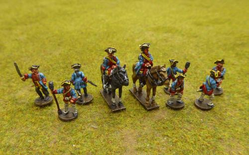 7YW Hanoverian artillery