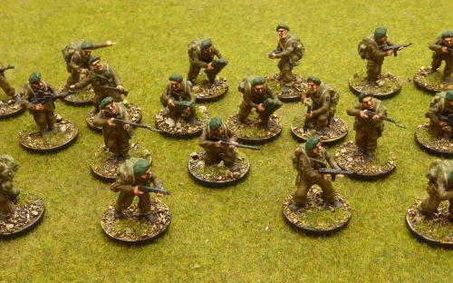 28mm WW2 British Commandos (Warlord Games)
