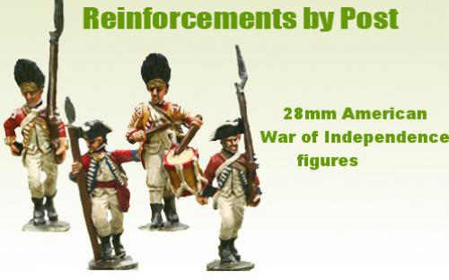 28mm AWI figures painted by Reinforcements by Post