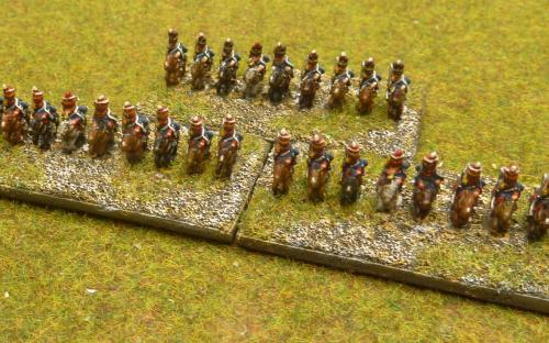Napoleonic British light cavalry