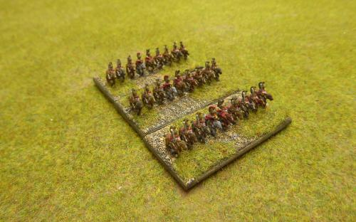 British Dragoons
