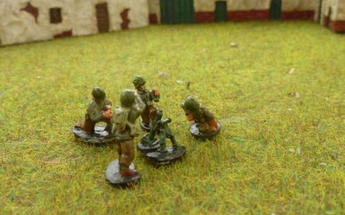 CDAI06 Light Mortar 4 man firing teams