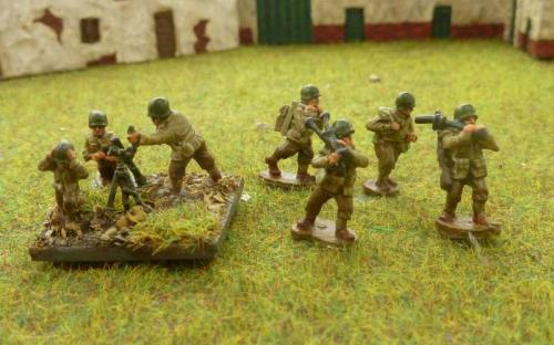 CDAI07 Heavy mortar 3 man firing 4 man moving teams