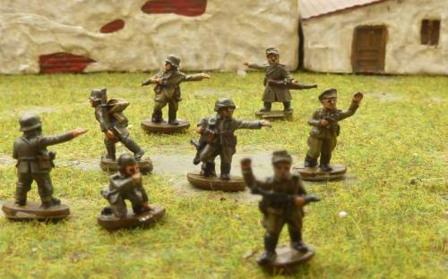 Bag of 50 painted WW2 figures $50