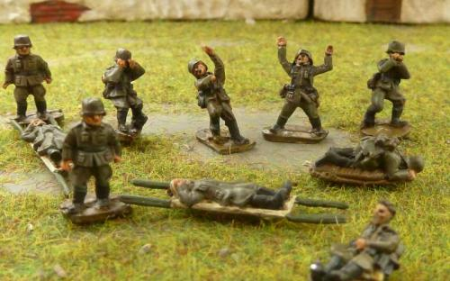CDGI-10 Dead, wounded, stretcher bearers