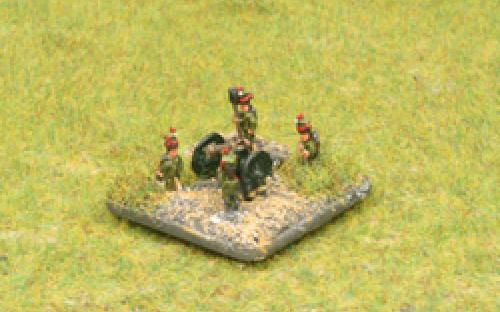 6mm Napoleonic Dutchy of Warsaw artillery
