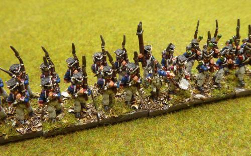 15mm Bavarian Light infantry (Blue moon miniatures)