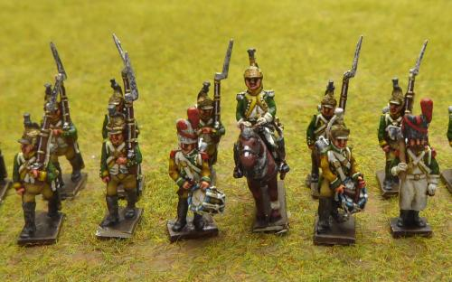French foot Dragoons