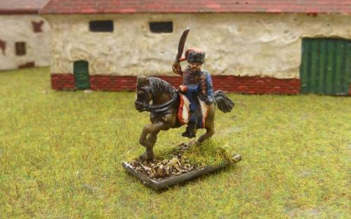 French Guard Horse artillery mounted officer