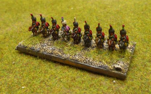 French Imperial Guard Chasseur a Cheval