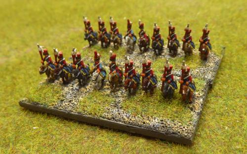French Imperial Guard Dutch Lancers