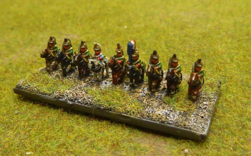 French Imperial Guard Empress Dragoons