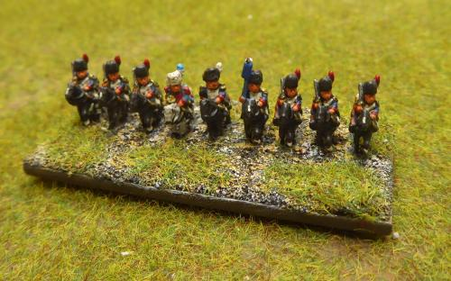 French Imperial Guard Grenadiers a Cheval