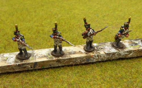 15mm French Light infantry (Blue Moon miniatures)