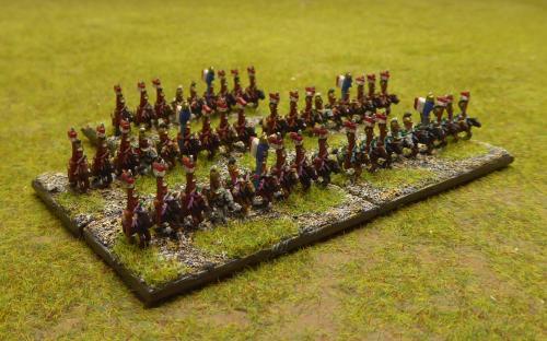Napoleonic French line lancers