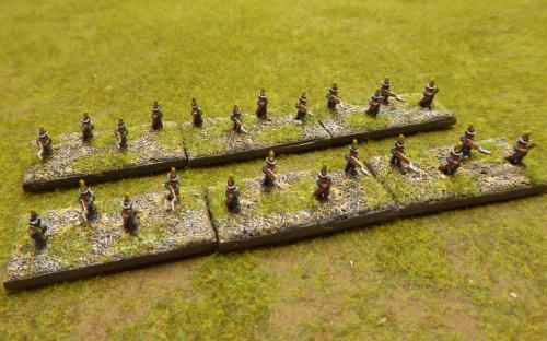 Napoleonic French skirmishers