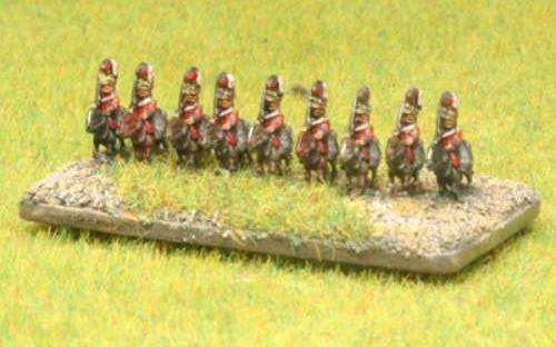 6mm Napoleonic British Household Cavalry (Royals)