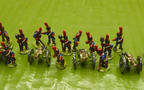 10mm French Line Horse Battery