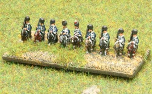 6mm Napoleonic British Hussars