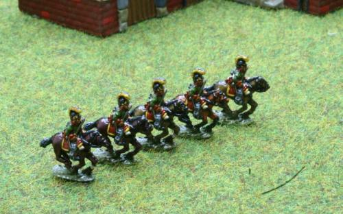 10mm Napoleonic Austrian Cheveauleger