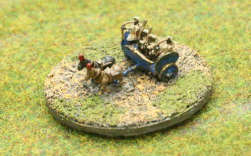 6mm Warmaster Ancients Indian army: Commander