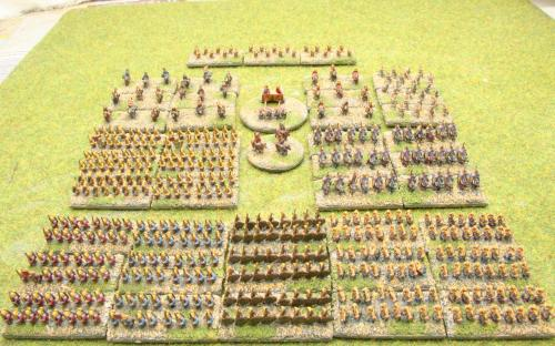 6mm Warmaster Ancients Early Persian army: Full army