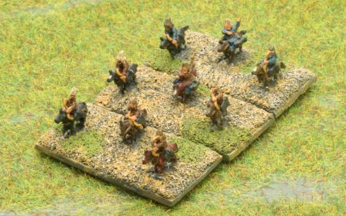 6mm Warmaster Ancients Early Persian army: Skythian cavalry